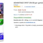 advantage spot n 80 per gatti oltre 4 kg