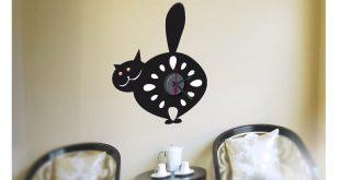 orologi-a-forma-di-gatto-da-parete